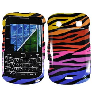 For BlackBerry Bold 9930 9900 4G Cover Hard Case C-Zebra