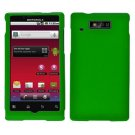 For Motorola Triumph WX435 Cover Hard Case Green