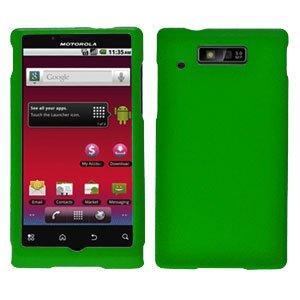 For Motorola Triumph WX435 Cover Hard Case Green