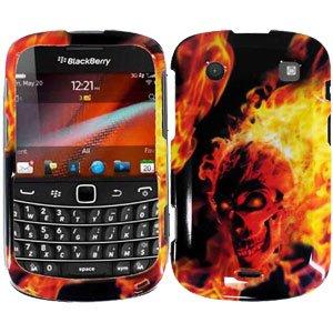 For BlackBerry Bold 9930 9900 4G Cover Hard Case F-Skull
