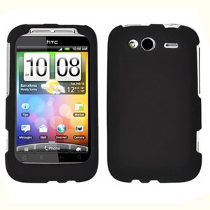 For T-Mobile HTC Wildfire S Cover Hard Case Black