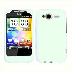 For T-Mobile HTC Wildfire S Cover Hard Case White