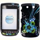 For BlackBerry Torch 9810 4G Cover Hard Case M-Flower