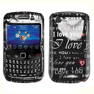 FOR BLACKBERRY CURVE 3G 9300 9330 COVER HARD CASE B-ILU