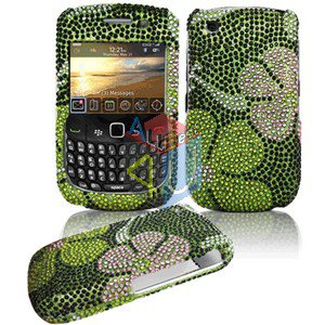 FOR BLACKBERRY CURVE 3G 9300 9330 Cover Hard Case Crystal G-Flower