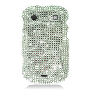 For BlackBerry Bold 9930 9900 4G Cover Hard Case Crystal Bling Clear