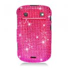 For BlackBerry Bold 9930 9900 4G Cover Hard Case Crystal Bling H-Pink