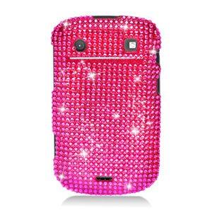 For BlackBerry Bold 9930 9900 4G Cover Hard Case Crystal Bling H-Pink
