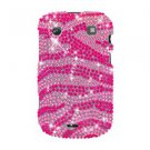 For BlackBerry Bold 9930 9900 4G Cover Hard Case Crystal Bling P-Zebra