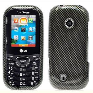 For LG Cosmos 2 VN251 Cover Hard Case Carbon Fiber