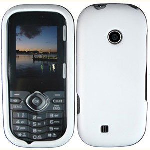 For LG Cosmos 2 VN251 Cover Hard Case White