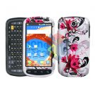 For Samsung Galaxy S Epic 4G D700 Cover Hard Case W-Flower