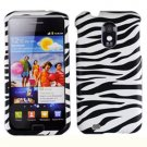 For Samsung Galaxy S II Epic 4G Touch D710 Cover Hard Case Zebra