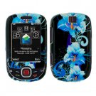For Samsung Smiley SGH-T359 / Elevate SGH-T356 Cover Hard Case Flower