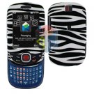 For Samsung Smiley SGH-T359 / Elevate SGH-T356 Cover Hard Case Zebra