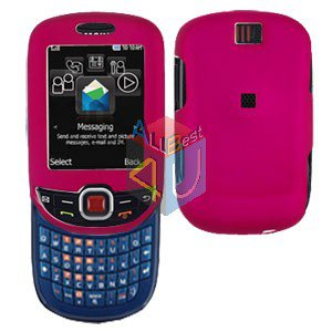 For Samsung Smiley SGH-T359 / Elevate SGH-T356 Cover Hard Case R-Pink