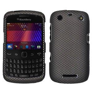 For BlackBerry Curve 9360/ 9370/ 9350 Cover Hard Case Carbon Fiber