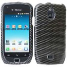 For Samsung Exhibit 4G T759 Cover Hard Case Carbon Fiber