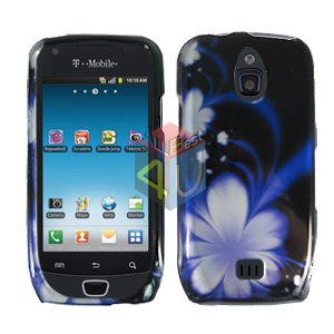 For Samsung Exhibit 4G T759 Cover Hard Case B-Flower