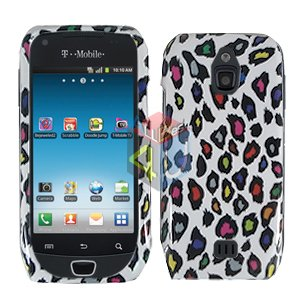 For Samsung Exhibit 4G T759 Cover Hard Case R-Leopard