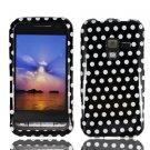 For Samsung Conqure 4G D600 Cover Hard Case Polka Dot
