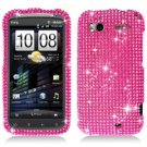 For HTC Sensation 4G Cover Hard Case Crystal Bling Pink