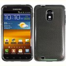 For Samsung Galaxy S II Epic 4G Touch D710 Cover Hard Case Carbon Fiber