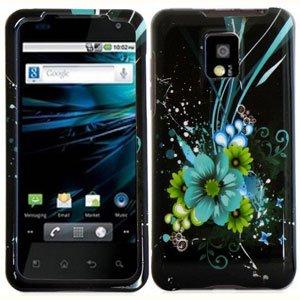 For LG T-Mobile G2x Cover Hard Case M-Flower