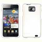 For AT&T Samsung Galaxy S II SGH-i777 Cover Hard Case Rubberized White