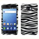 For AT&T Samsung Galaxy S II SGH-i777 Cover Hard Case Zebra