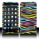 For HTC Vivid / Raider LTE 4G Cover Hard Phone Case Rainbow