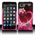 For HTC Vivid / Raider LTE 4G Cover Hard Phone Case Love
