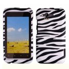 For HTC Rhyme Cover Hard Phone Case Zebra