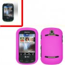 For Pantech Pursuit II Cover Hard Case H-Pink +Screen 2-in-1