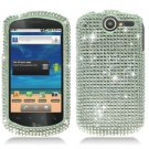 For Huawei Impulse U8800 / Ideos X5 Cover Hard Phone Case Crystal Bling Clear