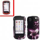 For Pantech Hotshot Cover Hard Case L-Flower +Screen 2-in-1