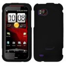 FOR HTC Rezound 4G Cover Hard Phone Case Rubberized Black