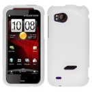 FOR HTC Rezound 4G Cover Hard Phone Case Rubberized White