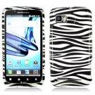 For Motorola Atrix 2 4G MB865 Cover Hard Case Zebra