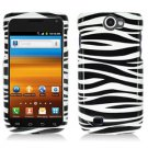 For Samsung Exhibit II 4G T679 Cover Hard Case Zebra