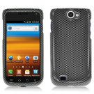 For Samsung Exhibit II 4G T679 Cover Hard Case Carbon Fiber