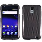 For AT&T Samsung Galaxy S II SkyRocket Cover Hard Case Carbon Fiber