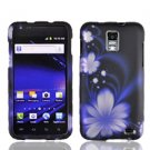 For AT&T Samsung Galaxy S II SkyRocket Cover Hard Case B-Flower