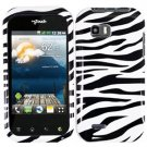 For LG Eclypse 4G Cover Hard Case Zebra