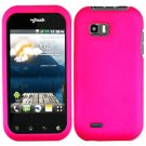 For LG Eclypse 4G Cover Hard Case Rubberized H-Pink