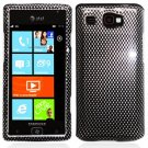 For Samsung Omnia W Cover Hard Case Carbon Fiber