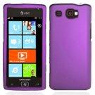 For Samsung Omnia W Cover Hard Case Purple