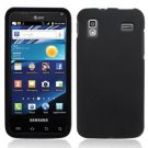 For Samsung Captivate Glide Cover Hard Case rubberized Black