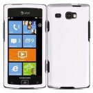For Samsung Omnia W Cover Hard Case White