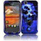 For LG Mytouch 4G / Optimus Sol Cover Hard Case B-Skull ( T-Mobile Mytouch )